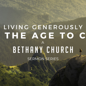 Living Generously – How Generosity Changes a Church