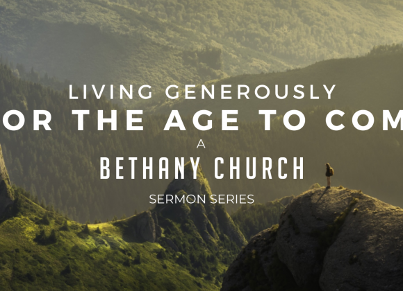 Living Generously – Driven by Generosity